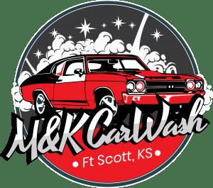 M&K Carwash Logo Ft Scott Kansas