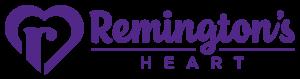 RemingtonsHeart Horizontal Purple