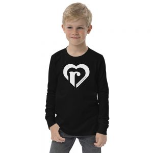 youth long sleeve tee black front 6151787858c6a